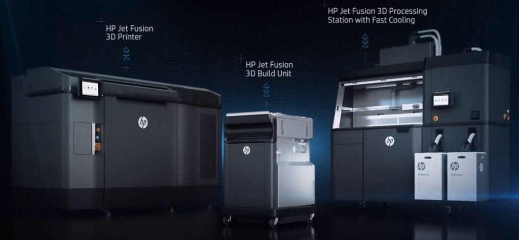 hp jet fusion 3d printer 4200