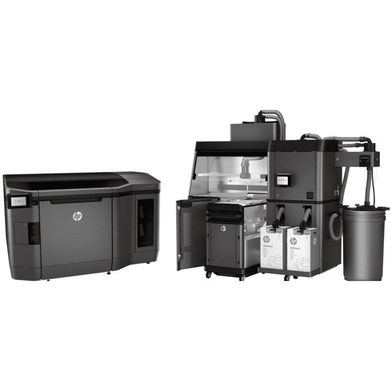 3D Printer Yarışındaki Son Teknoloji HP-MJF