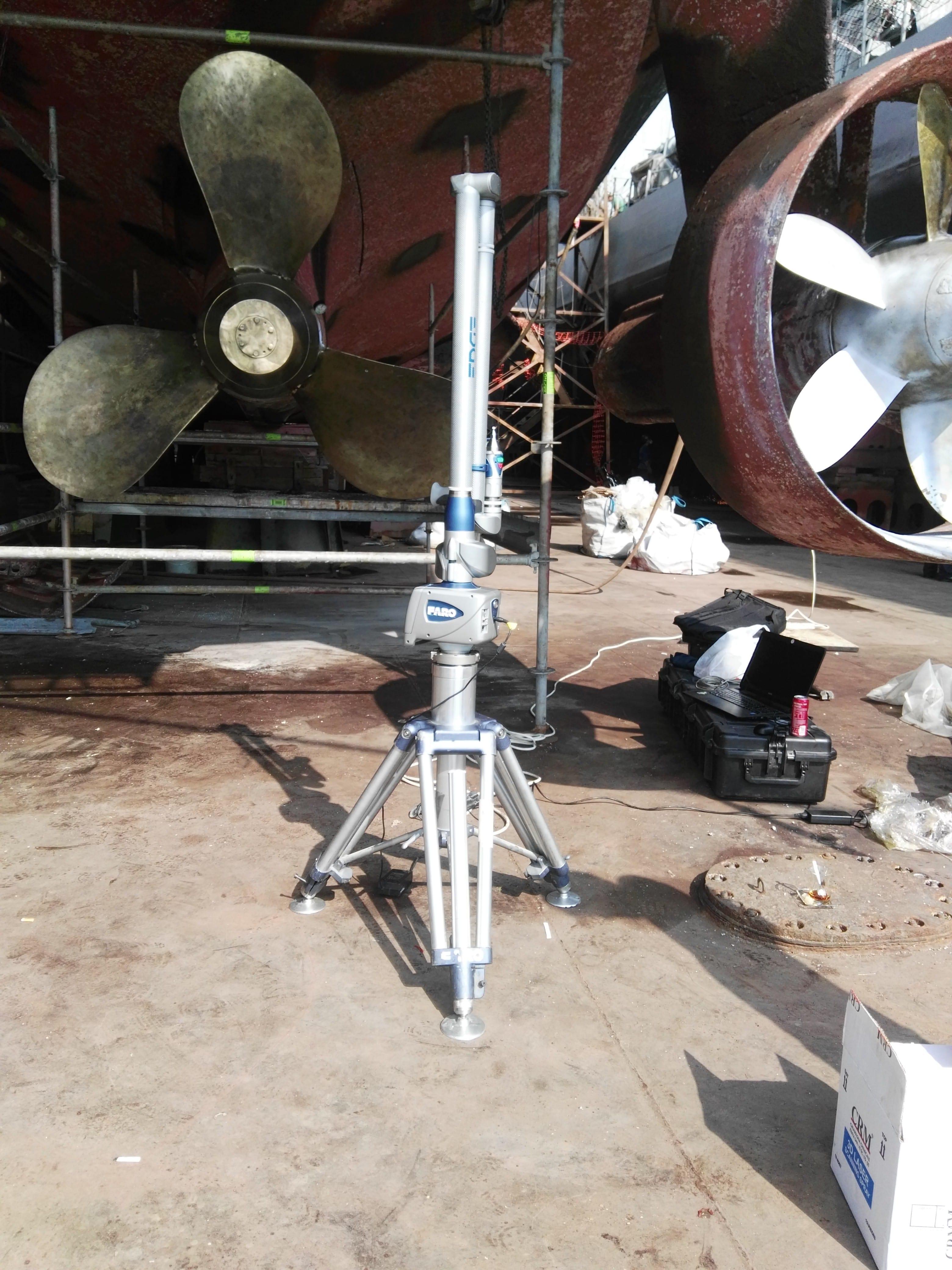 Laser Scanning and Wide Area Laser Scanning