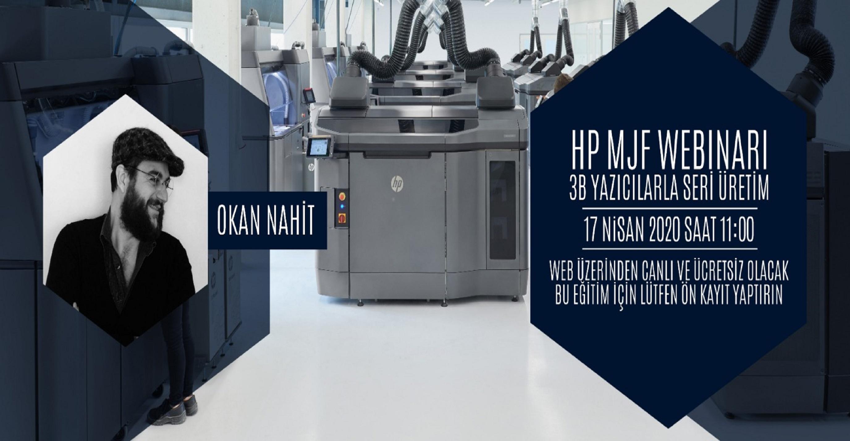 HP MJF Teknolojisi ile Seri İmalat - Webinar