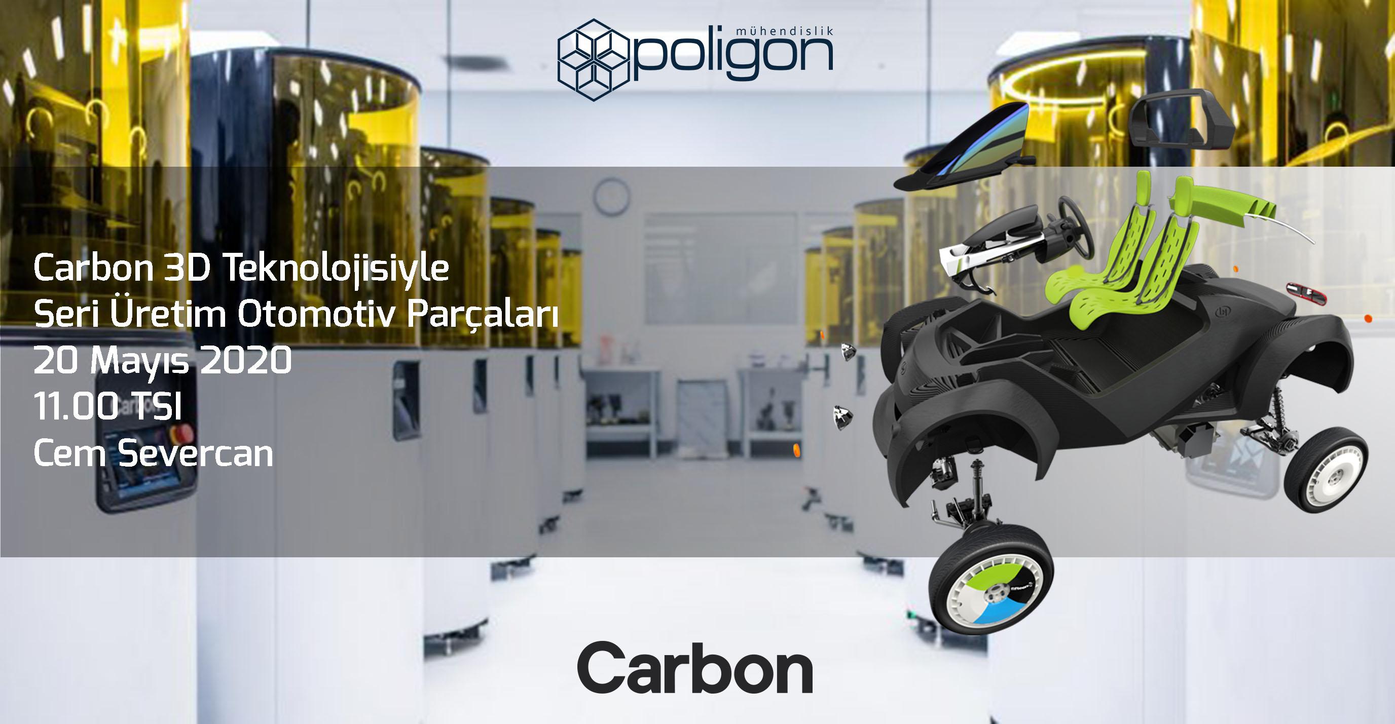 Carbon 3D ile Seri Üretim - Webinar