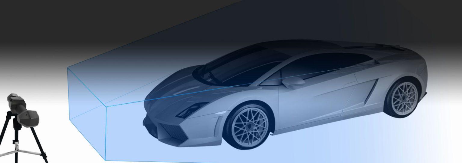 TrackScan-P42 3D Scanner System